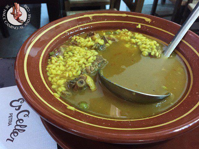 comer Mallorca arroz brut es celler chalo84