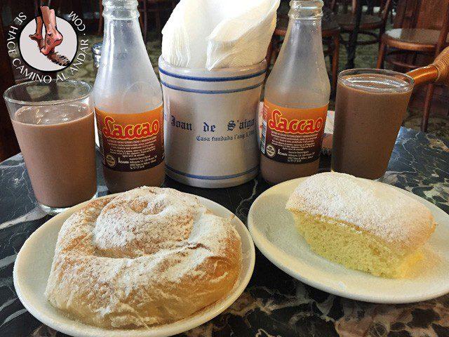 comer Mallorca ensaimada cuarto Can Joan de SAigo chalo84