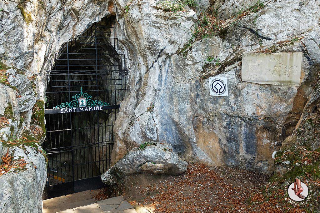 cueva santimamiñe entrada