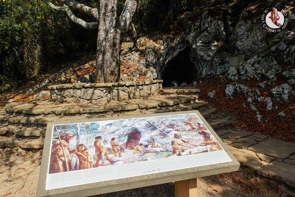 cueva santimamiñe exterior