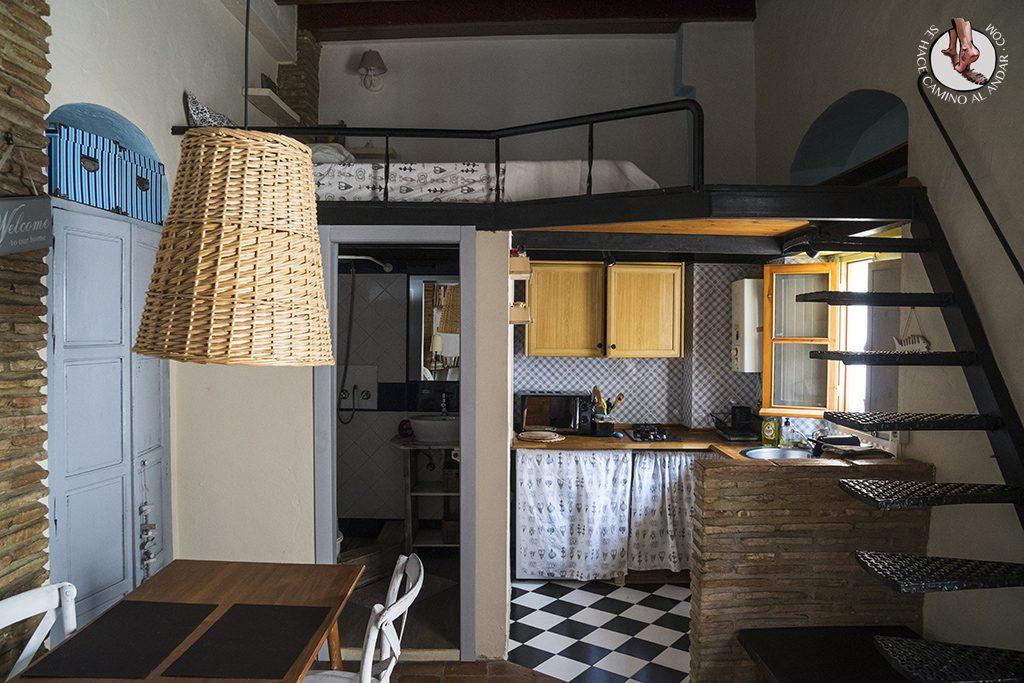 dormir en tarifa apartamento salon dormitorio cocina