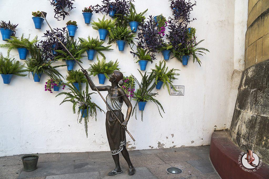 escultura patios cordobeses