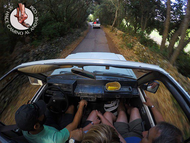 Excursion en jeep menorca