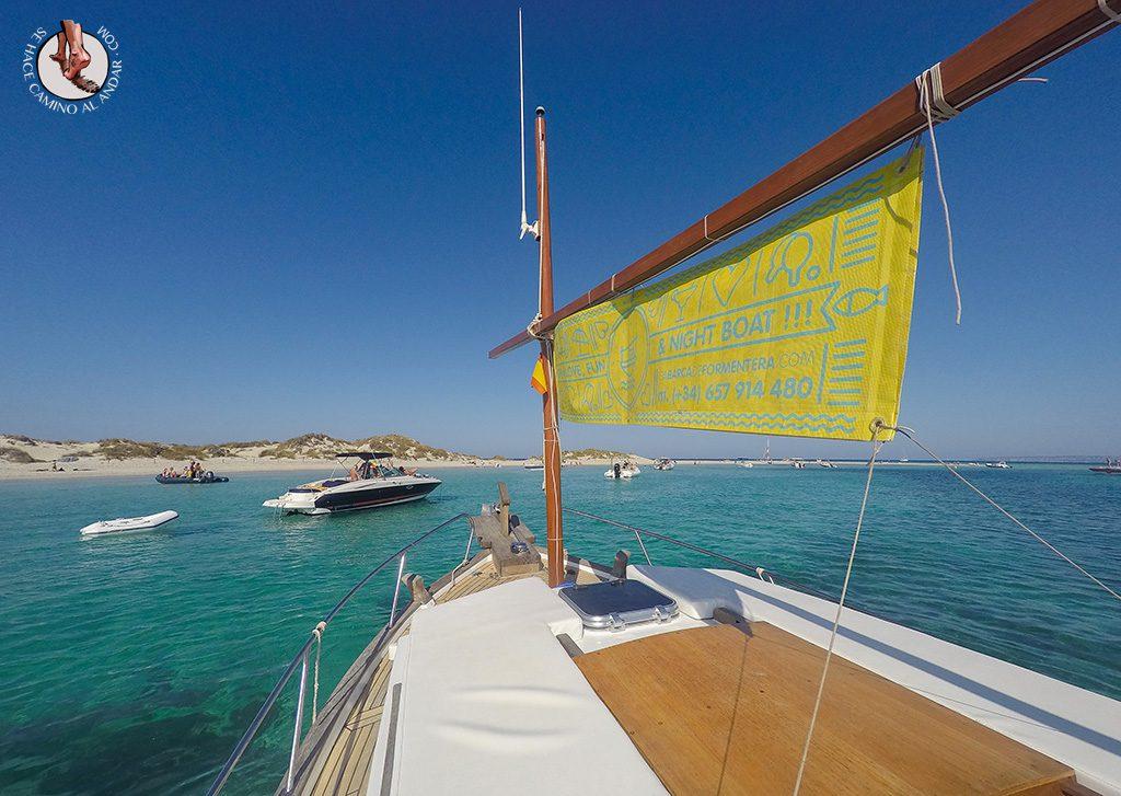 Excursión isla Espalmador Formentera