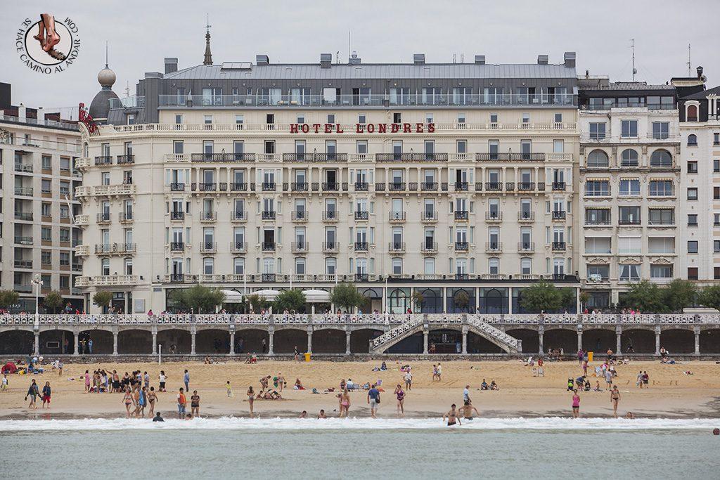 fin de semana en san sebastian hotel londres inglaterra