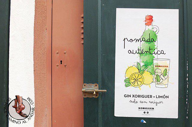 gin xoriger limon pomada ginebra