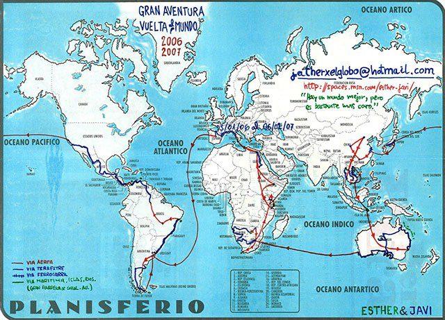 jatherxelglobo ruta