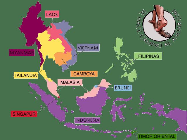 mapa sudeste asiático chalo84