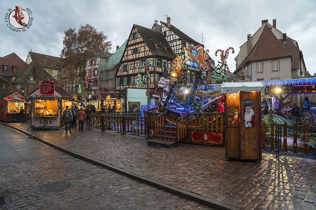 mercado navidad colmar atracciones