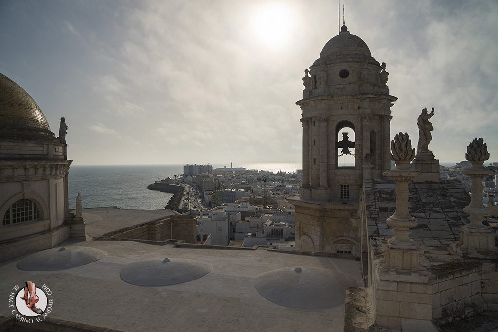 miradores de cadiz torre del reloj catedral crucero
