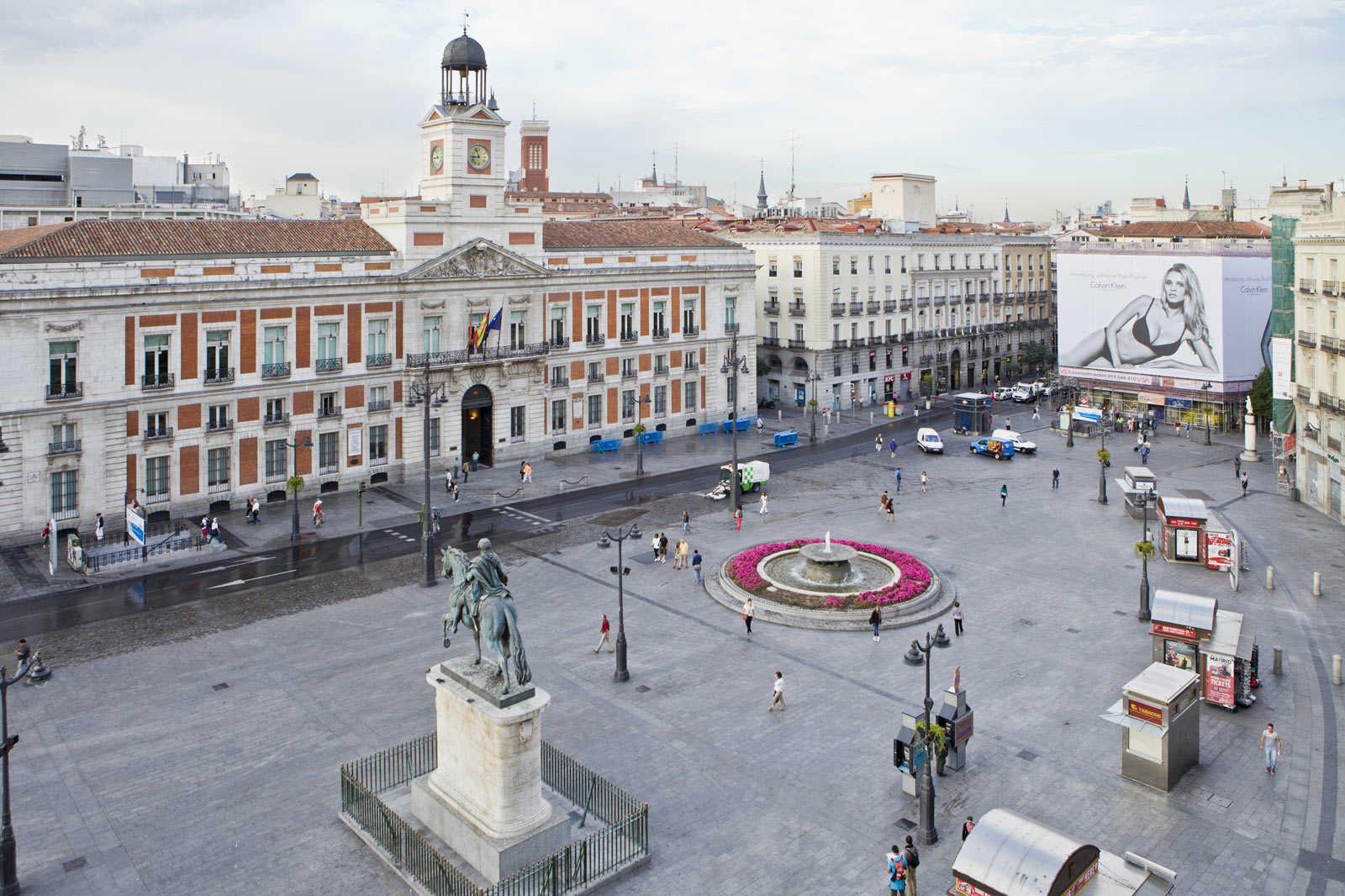 Miradores de Madrid hotel europa