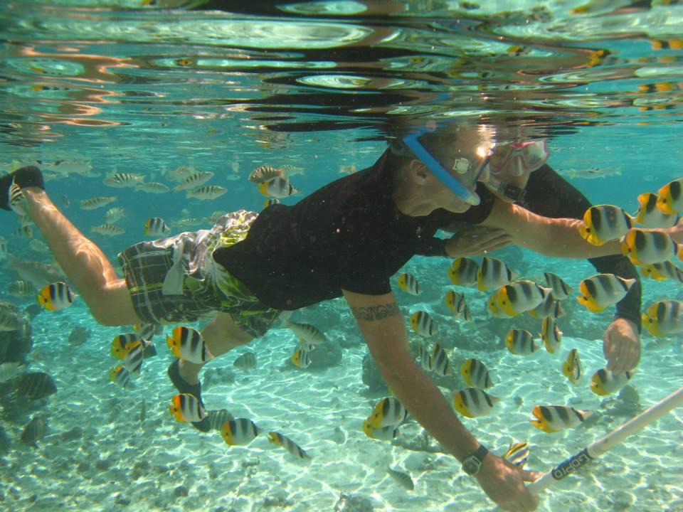 nakie al mundo polinesia francesa snorkel