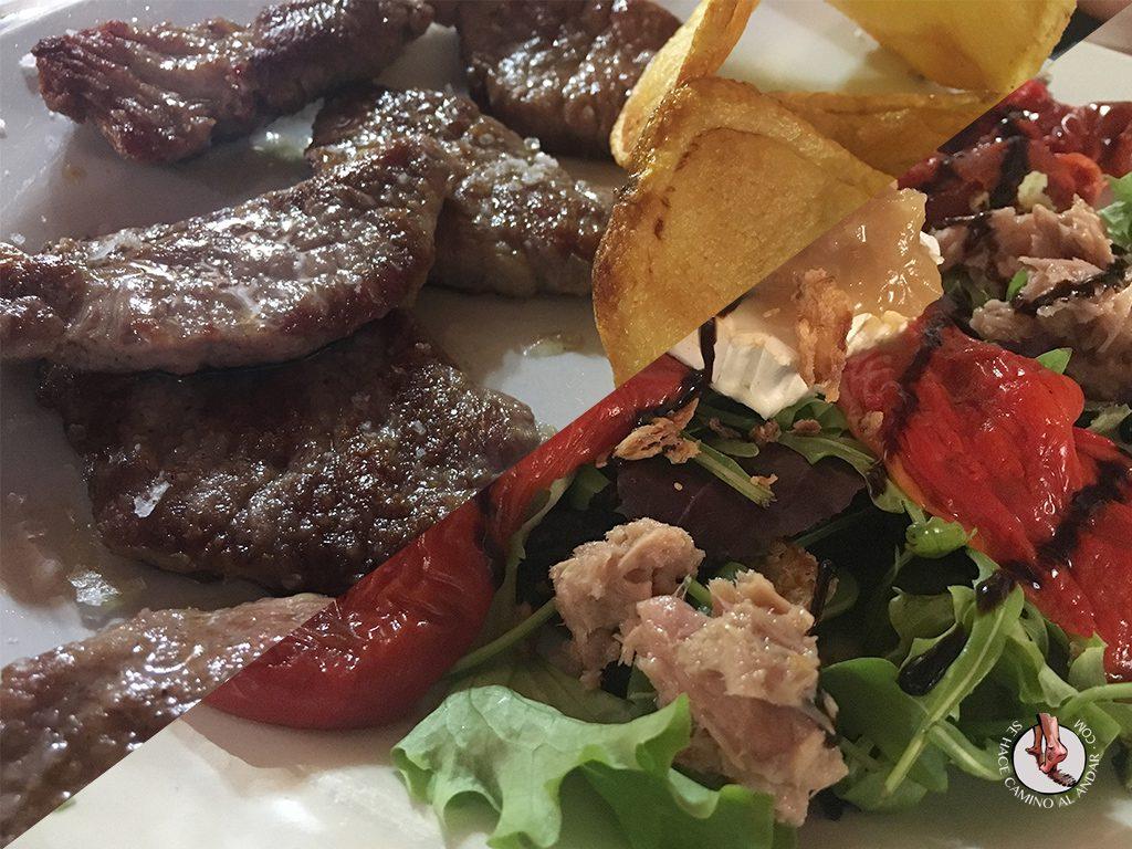 orbaneja del castillo restaurante el rincon comida