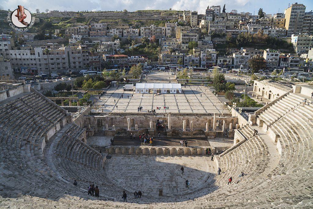 organizar viaje a jordania amman teatro romano