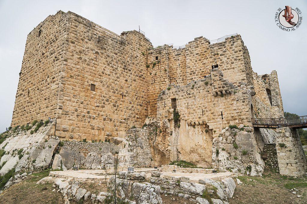 organizar viaje a jordania castillo de aljun