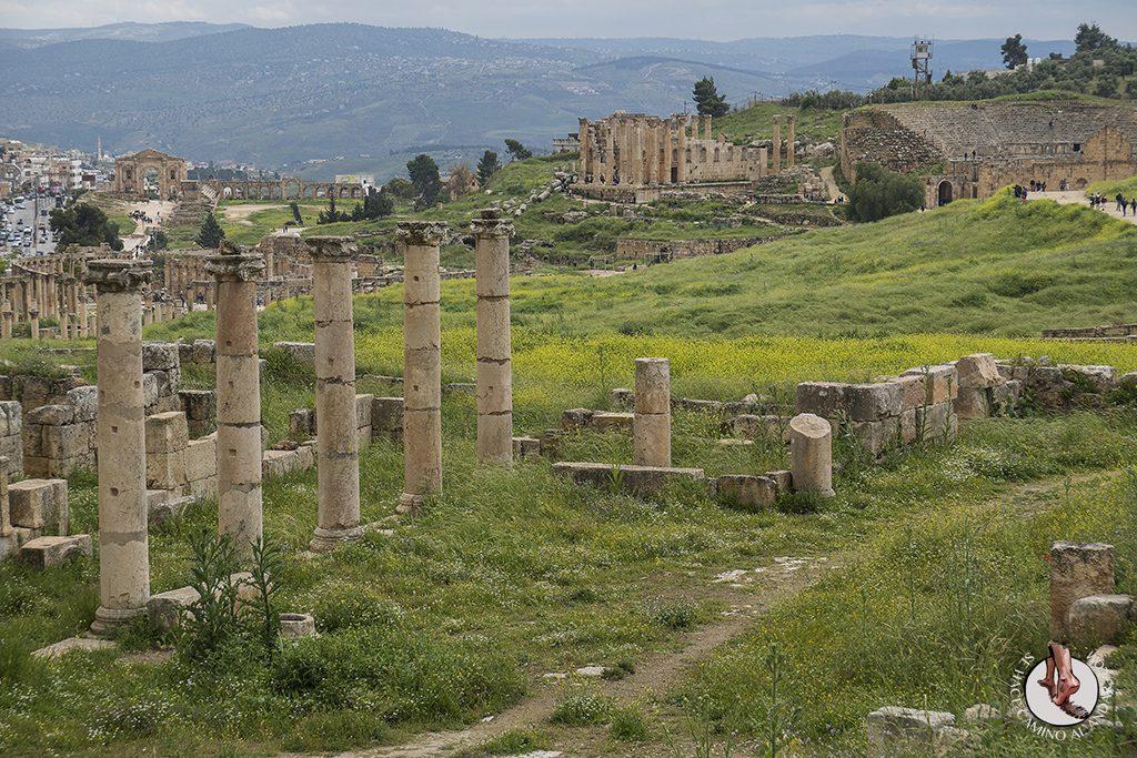 organizar viaje a jordania jerash general