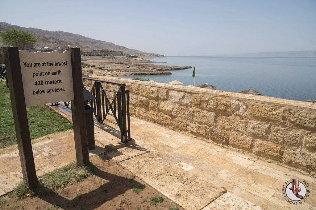 organizar viaje a jordania mar muerto punto bajo
