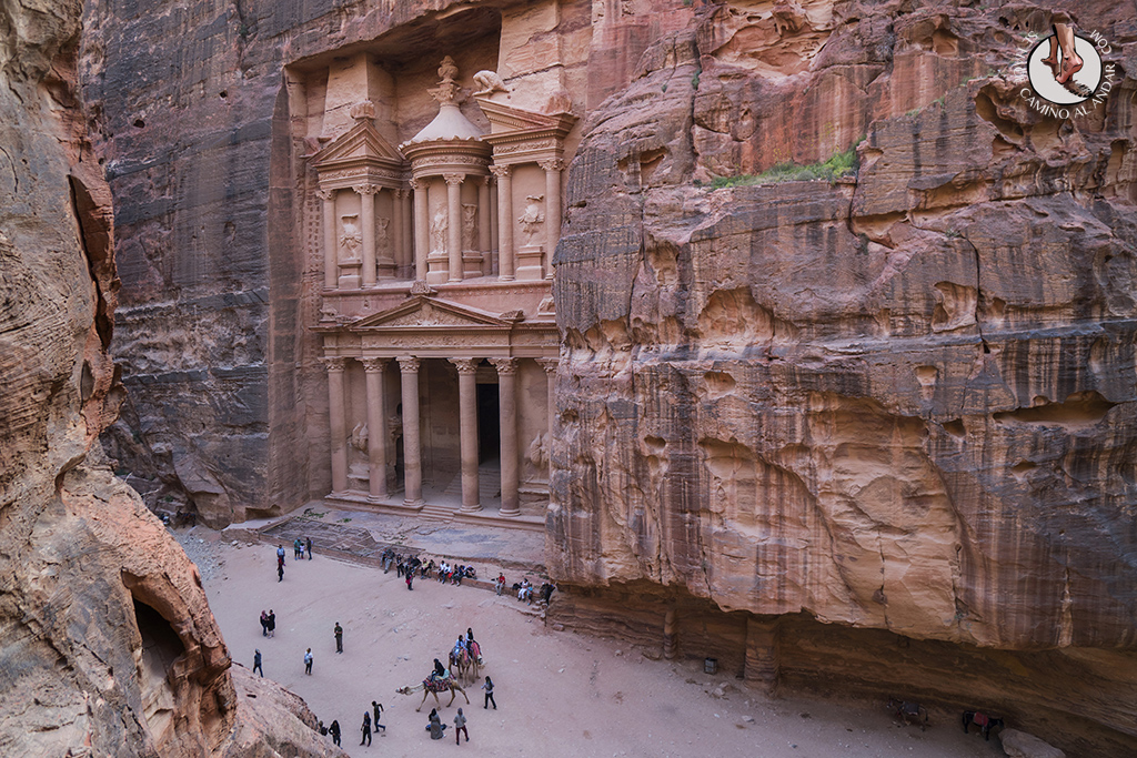 organizar viaje a jordania petra tesoro mirador medio