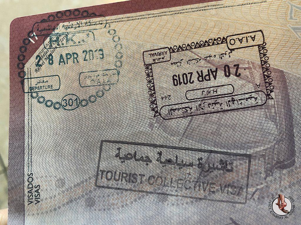 organizar viaje a jordania visado