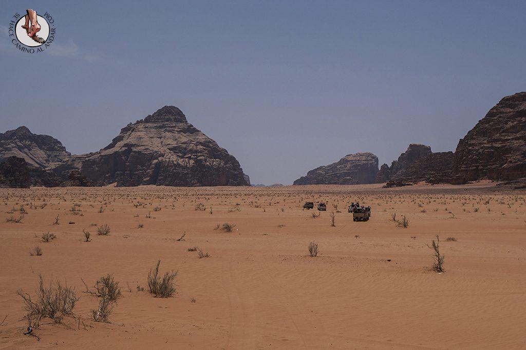 organizar viaje a jordania wadi rum paseo 4x4
