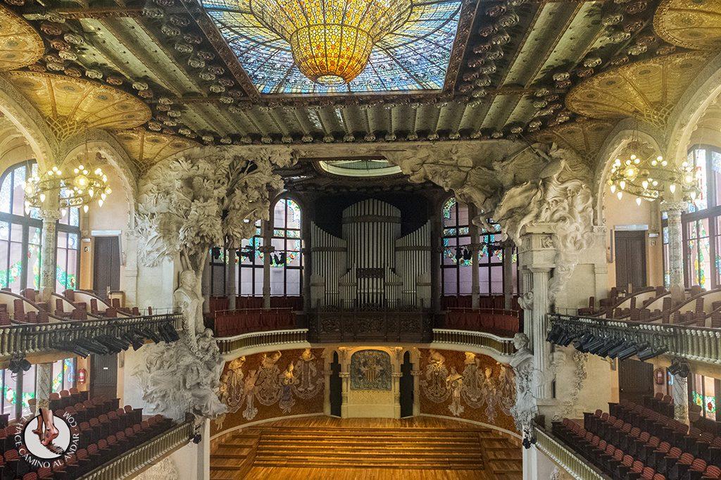 que ver en Barcelona palau de la musica catalana