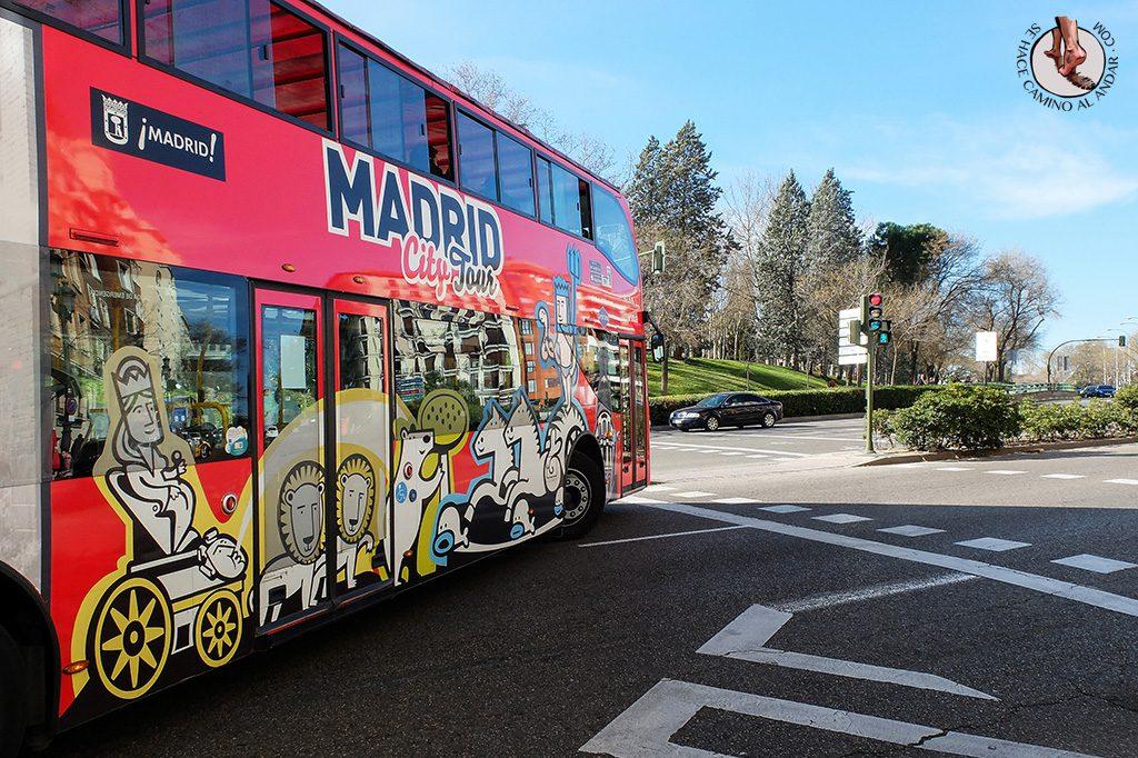 que ver en Madrid bus turistico