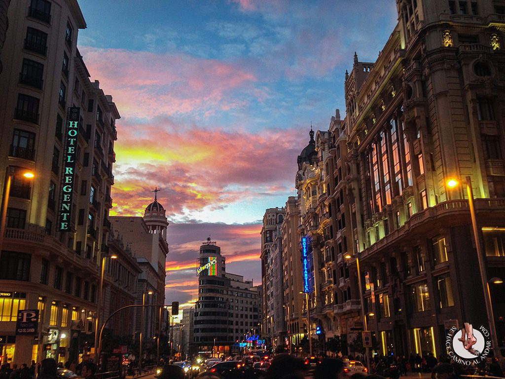 que ver en Madrid gran via
