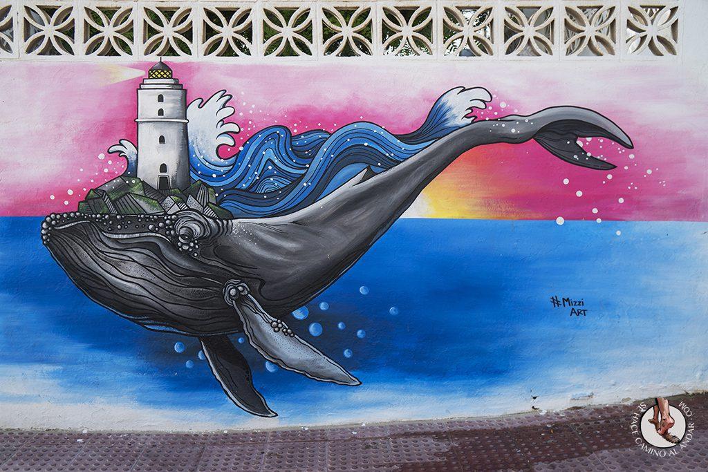 que ver en Tarifa graffiti