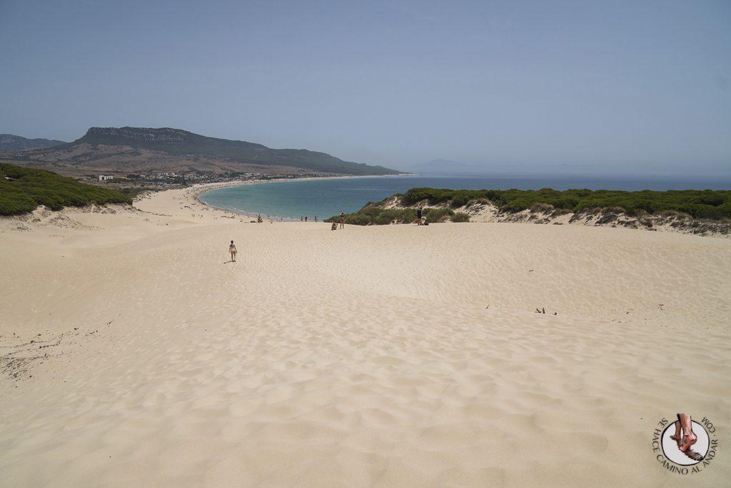 que ver en Tarifa playa de bolonia duna