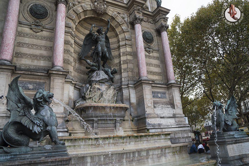 que ver en paris barrio latino fuente