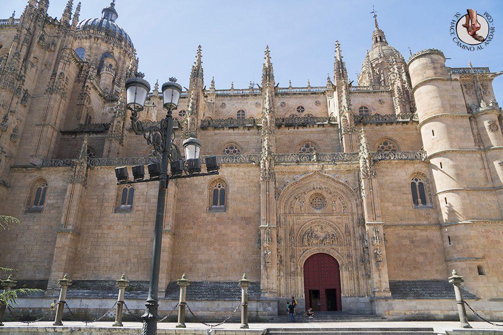 que ver en salamanca catedral fachada