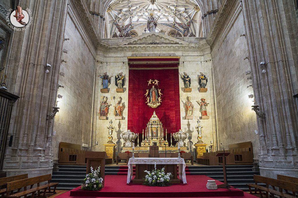 que ver en salamanca catedral nueva altar