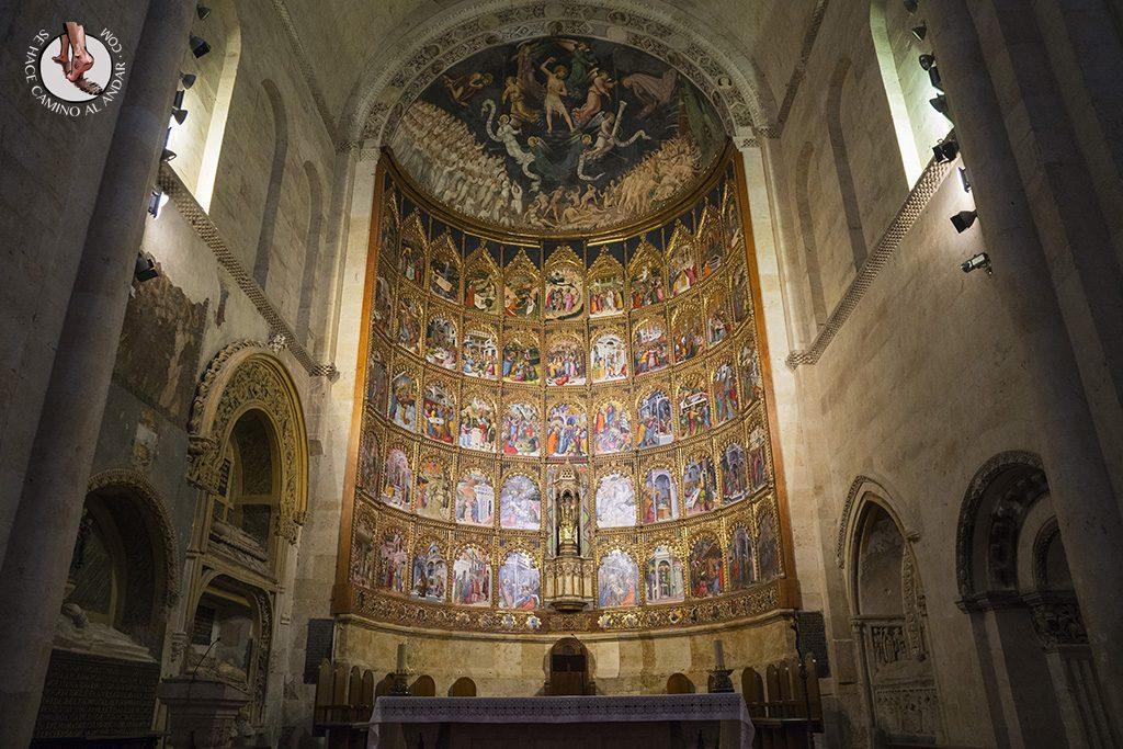 que ver en salamanca catedral vieja altar