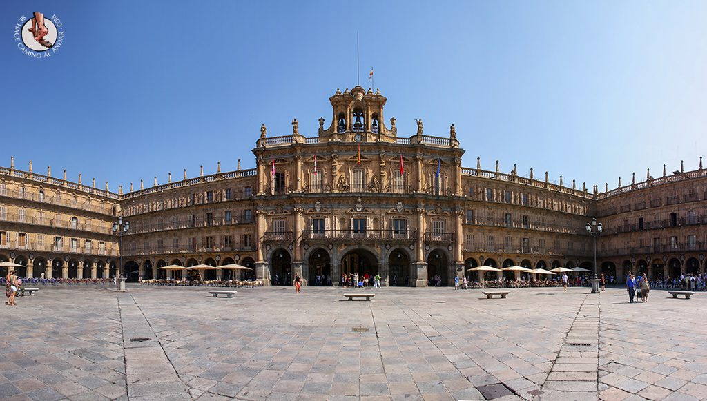 que ver en salamanca plaza mayor panoramica