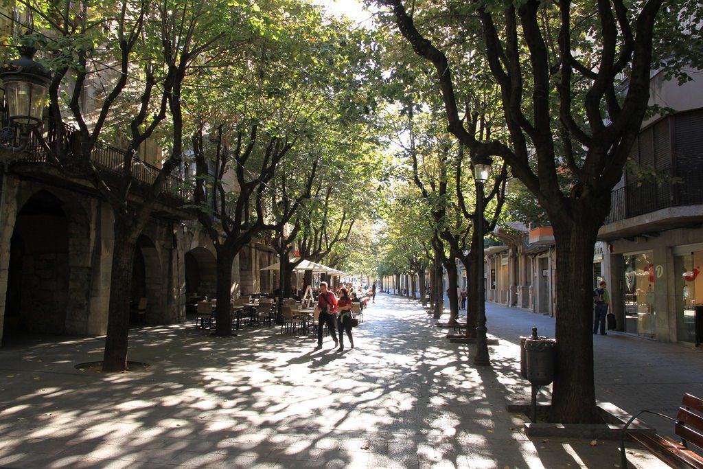 Rambla de la libertad Girona