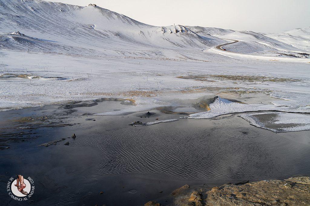 ring road 5-7 Fumarolas Hverir lago