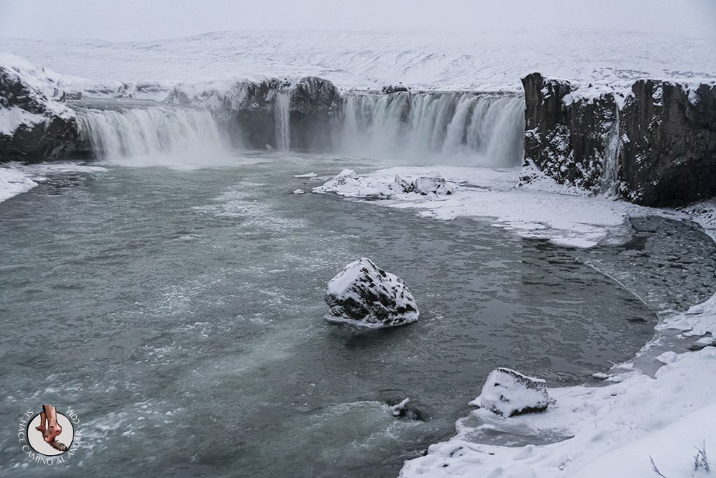 ring road 5-7 cascada Godafoss