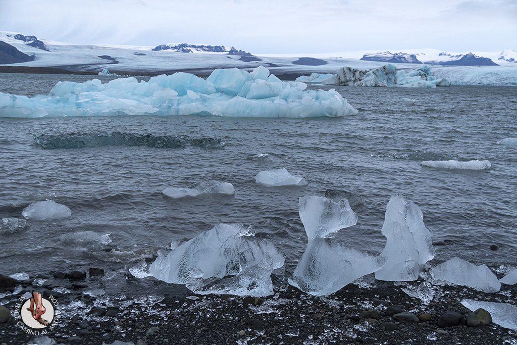ring road islandia dia 4-7 Glaciar Jokulsarlon trozo hielo