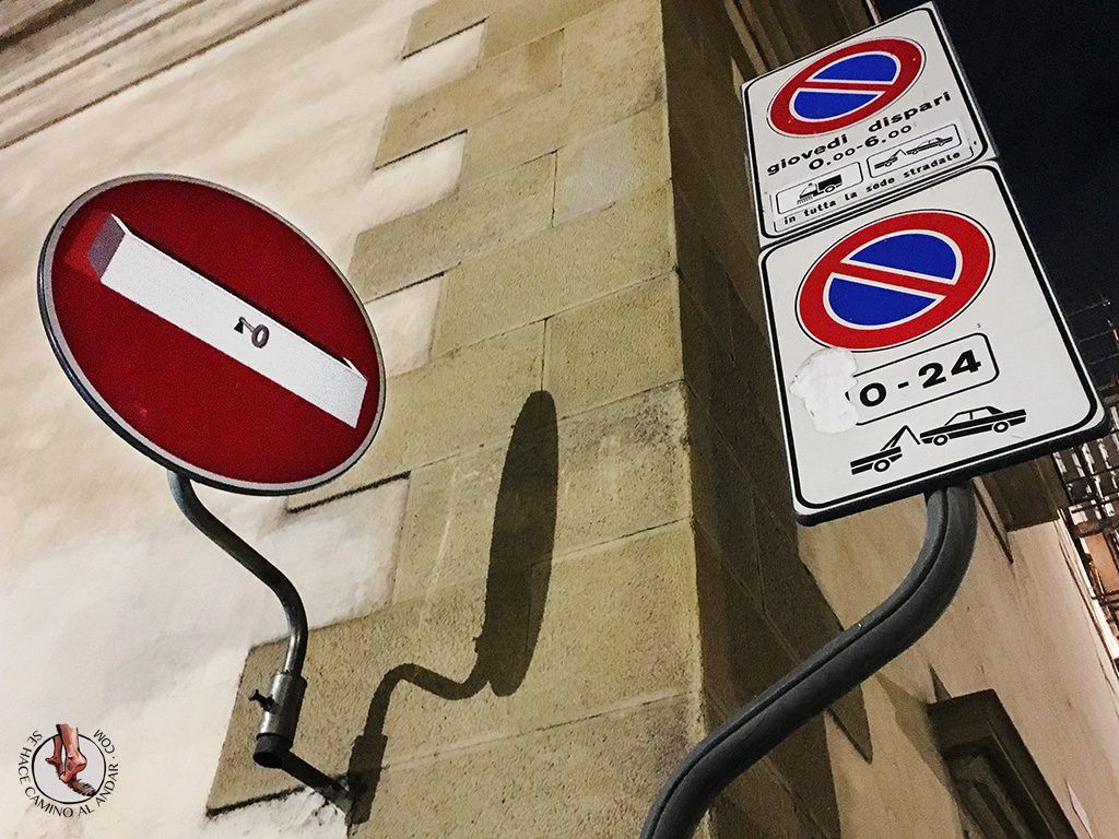 señal prohibido caja cerrada
