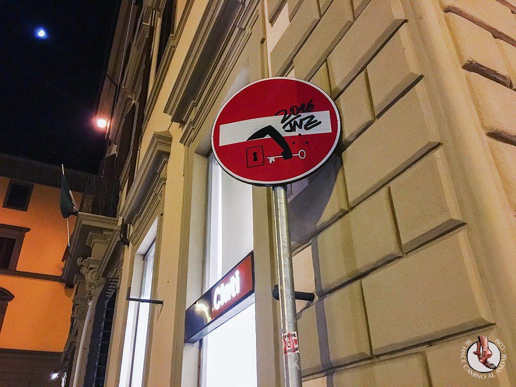 señal prohibido cerrojo