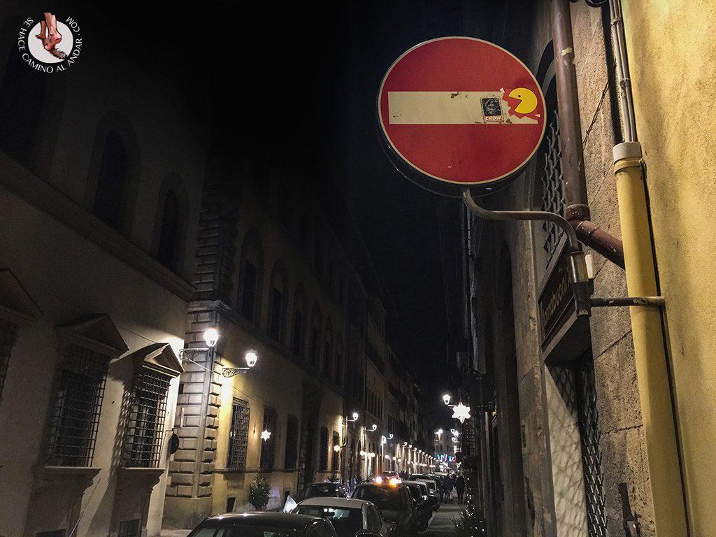 señal prohibido pac-man