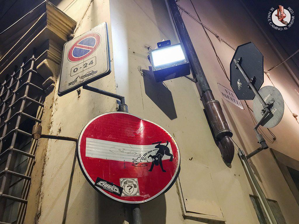 señal prohibido perro pis