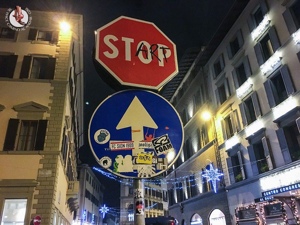 señal stop start