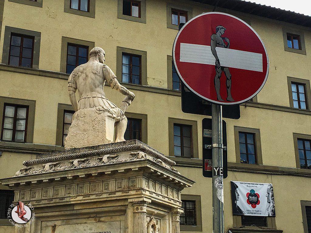 Señales de tráfico Clet Abraham Florencia