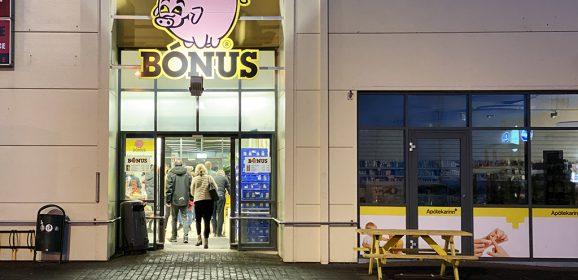 El supermercado más barato de Islandia: BONUS