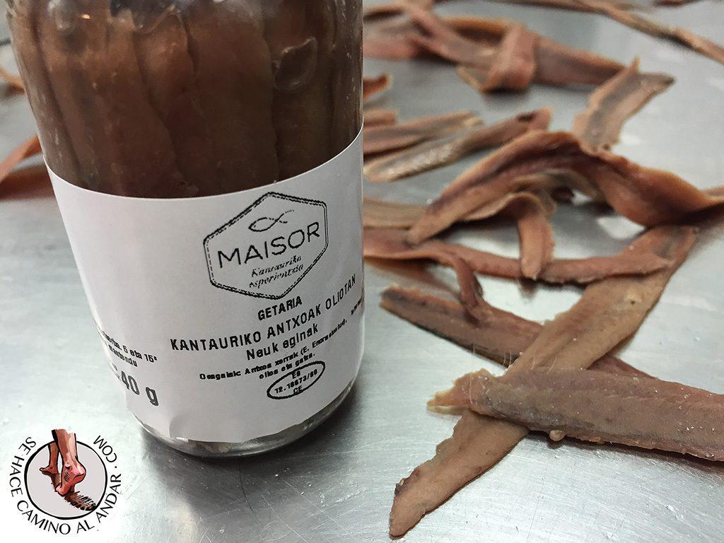 taller elaboracion anchoa maisor getaria
