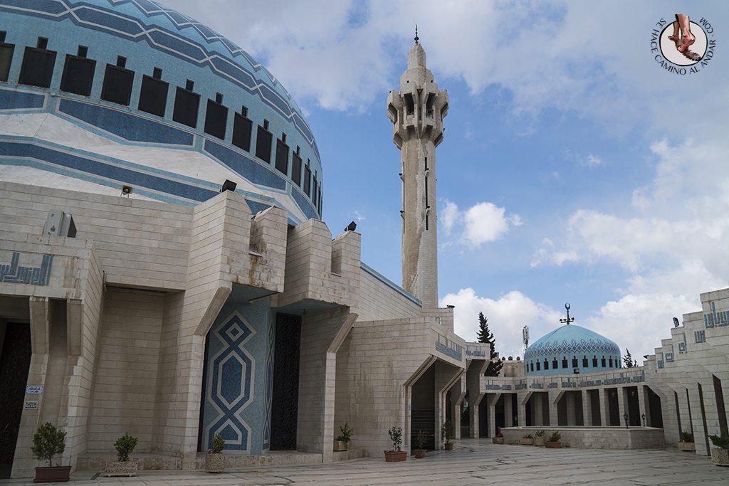 visitar amman un dia mezquita abdala exterior