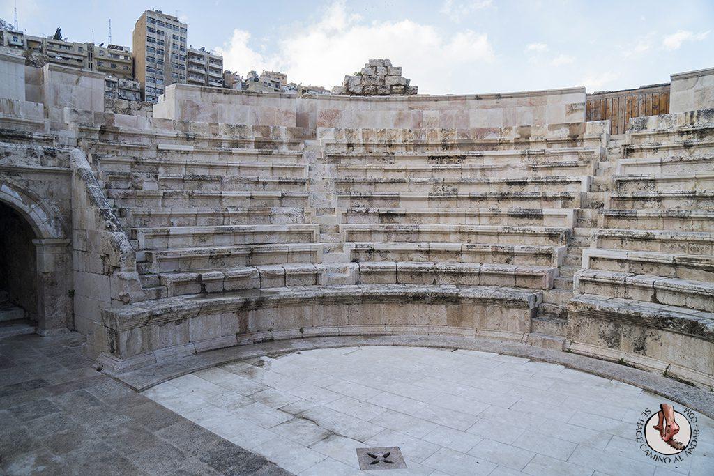 visitar amman un dia odeon romano aforo