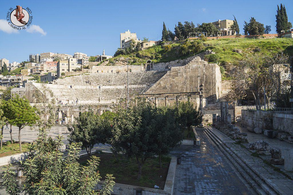 visitar amman un dia teatro romano