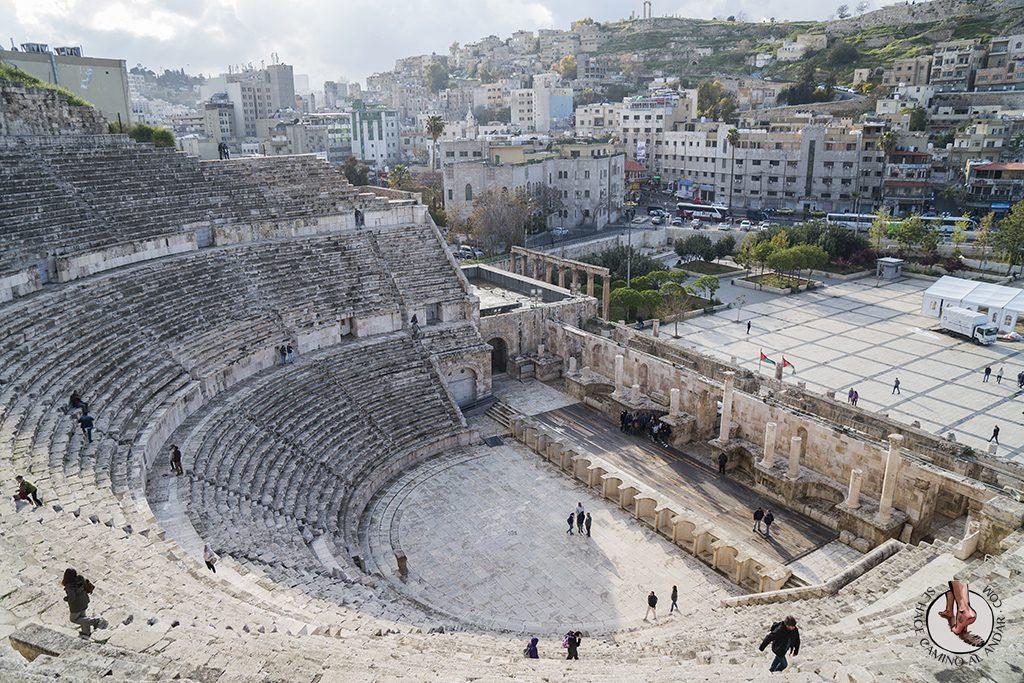 visitar amman un dia teatro romano mirador